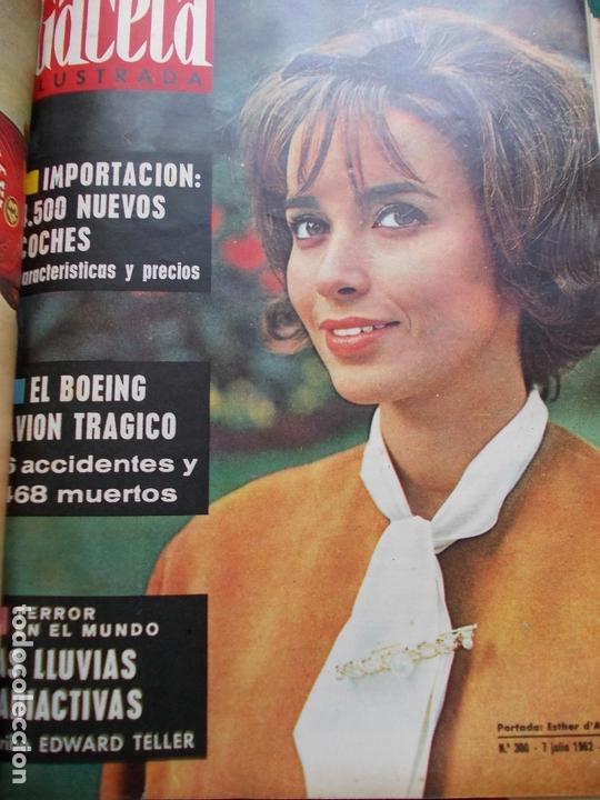 Coleccionismo de Revista Gaceta Ilustrada: GACETA ILUSTRADA AÑO 1962 COMPLETA FOTOS DE LAS PORTADAS - Foto 27 - 169743932