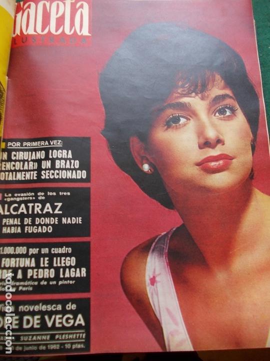 Coleccionismo de Revista Gaceta Ilustrada: GACETA ILUSTRADA AÑO 1962 COMPLETA FOTOS DE LAS PORTADAS - Foto 28 - 169743932