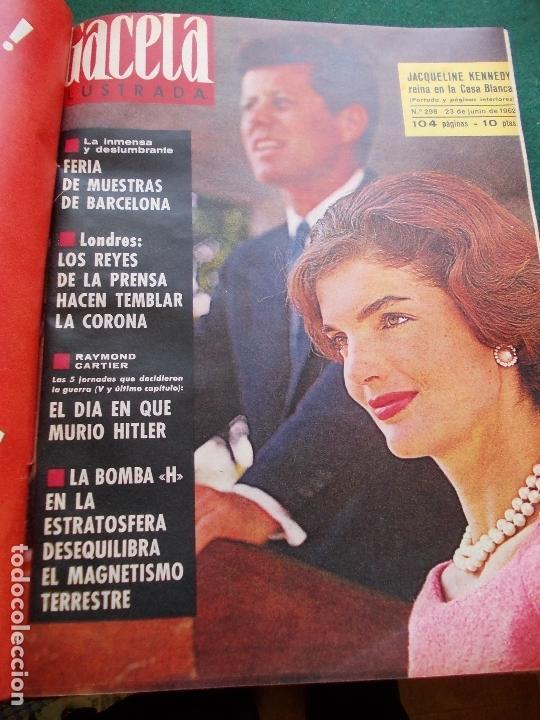Coleccionismo de Revista Gaceta Ilustrada: GACETA ILUSTRADA AÑO 1962 COMPLETA FOTOS DE LAS PORTADAS - Foto 29 - 169743932