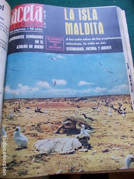 Coleccionismo de Revista Gaceta Ilustrada: GACETA ILUSTRADA AÑO 1962 COMPLETA FOTOS DE LAS PORTADAS - Foto 30 - 169743932