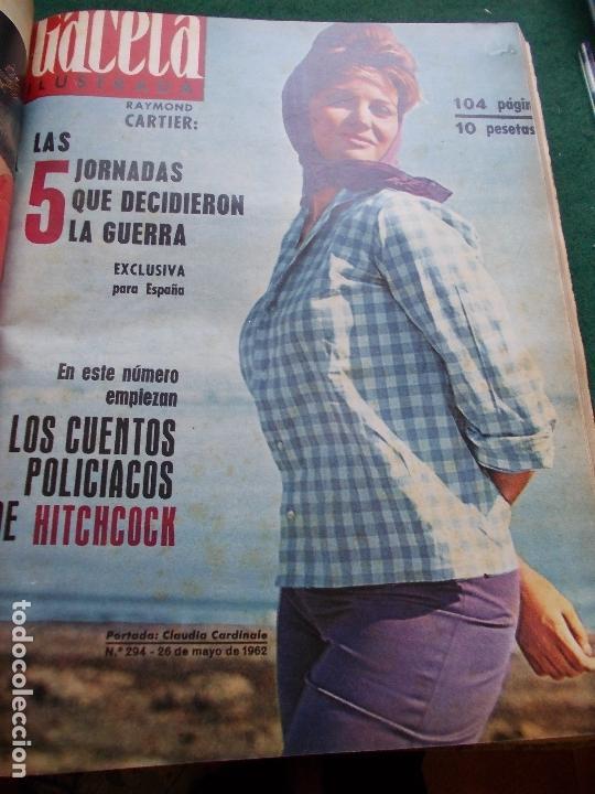 Coleccionismo de Revista Gaceta Ilustrada: GACETA ILUSTRADA AÑO 1962 COMPLETA FOTOS DE LAS PORTADAS - Foto 31 - 169743932