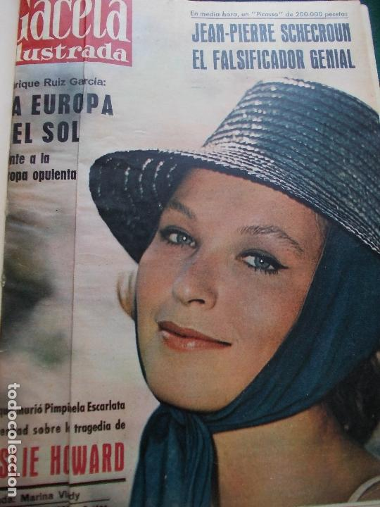Coleccionismo de Revista Gaceta Ilustrada: GACETA ILUSTRADA AÑO 1962 COMPLETA FOTOS DE LAS PORTADAS - Foto 32 - 169743932