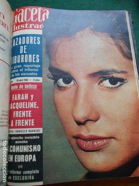 Coleccionismo de Revista Gaceta Ilustrada: GACETA ILUSTRADA AÑO 1962 COMPLETA FOTOS DE LAS PORTADAS - Foto 33 - 169743932