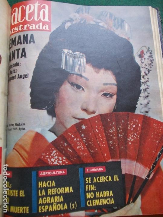 Coleccionismo de Revista Gaceta Ilustrada: GACETA ILUSTRADA AÑO 1962 COMPLETA FOTOS DE LAS PORTADAS - Foto 34 - 169743932