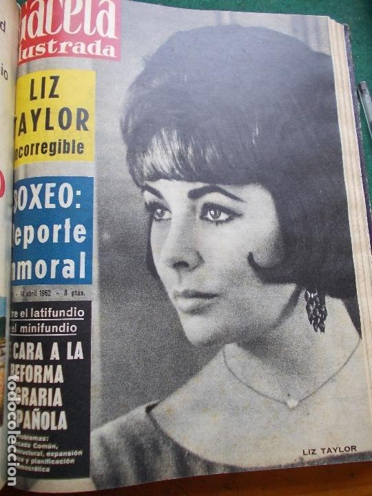 Coleccionismo de Revista Gaceta Ilustrada: GACETA ILUSTRADA AÑO 1962 COMPLETA FOTOS DE LAS PORTADAS - Foto 35 - 169743932