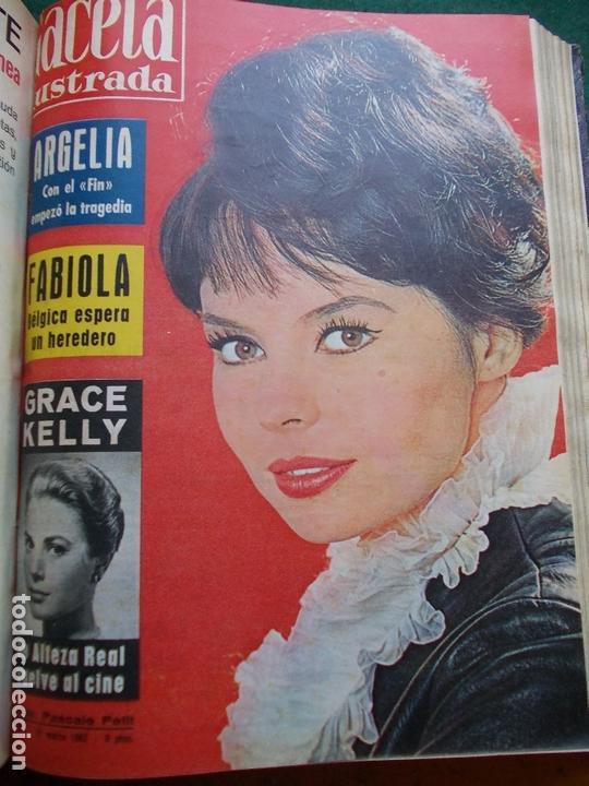 Coleccionismo de Revista Gaceta Ilustrada: GACETA ILUSTRADA AÑO 1962 COMPLETA FOTOS DE LAS PORTADAS - Foto 36 - 169743932