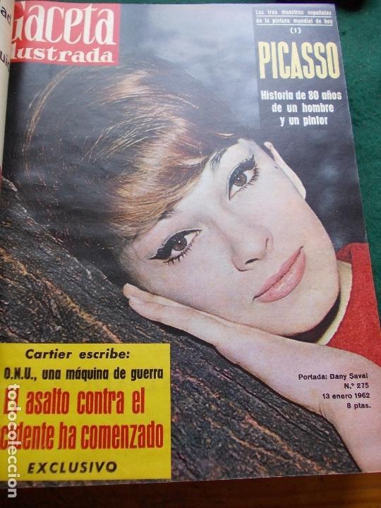 Coleccionismo de Revista Gaceta Ilustrada: GACETA ILUSTRADA AÑO 1962 COMPLETA FOTOS DE LAS PORTADAS - Foto 37 - 169743932
