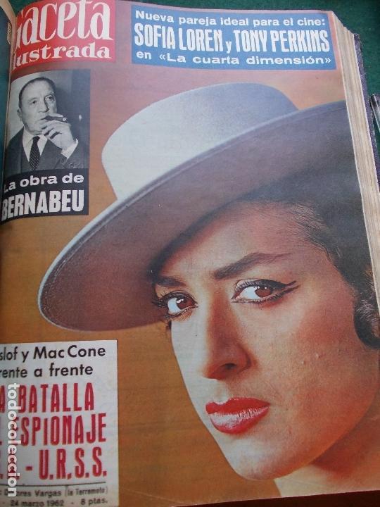 Coleccionismo de Revista Gaceta Ilustrada: GACETA ILUSTRADA AÑO 1962 COMPLETA FOTOS DE LAS PORTADAS - Foto 38 - 169743932