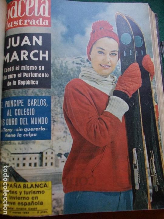 Coleccionismo de Revista Gaceta Ilustrada: GACETA ILUSTRADA AÑO 1962 COMPLETA FOTOS DE LAS PORTADAS - Foto 39 - 169743932