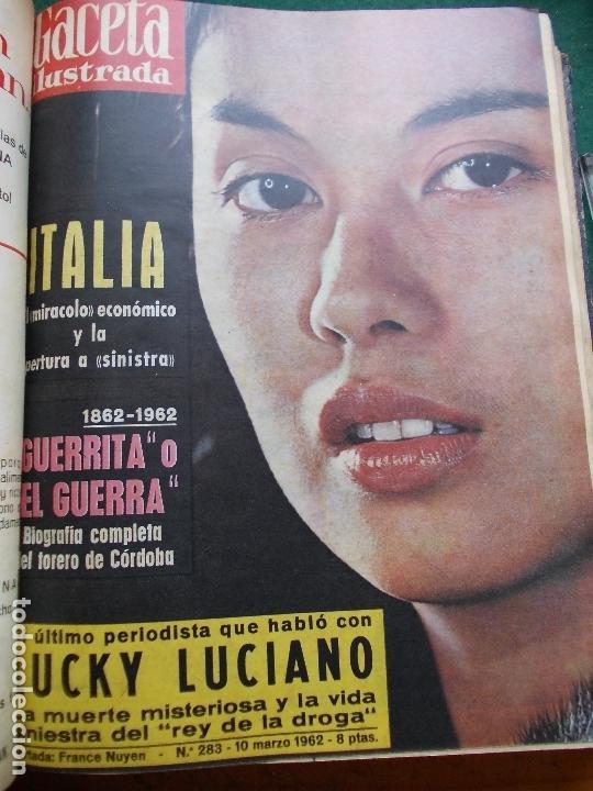 Coleccionismo de Revista Gaceta Ilustrada: GACETA ILUSTRADA AÑO 1962 COMPLETA FOTOS DE LAS PORTADAS - Foto 40 - 169743932