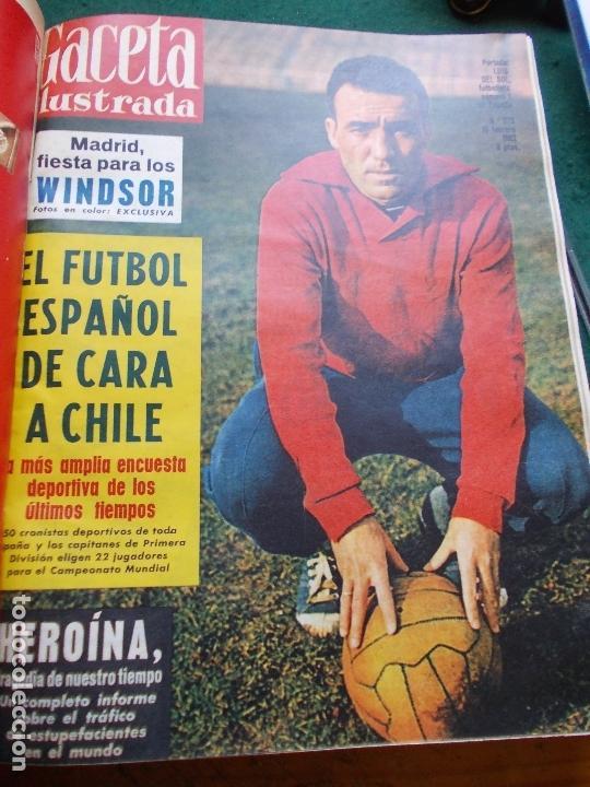 Coleccionismo de Revista Gaceta Ilustrada: GACETA ILUSTRADA AÑO 1962 COMPLETA FOTOS DE LAS PORTADAS - Foto 42 - 169743932
