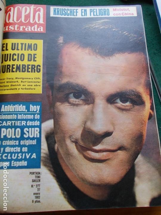 Coleccionismo de Revista Gaceta Ilustrada: GACETA ILUSTRADA AÑO 1962 COMPLETA FOTOS DE LAS PORTADAS - Foto 43 - 169743932