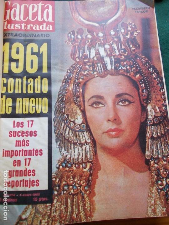 Coleccionismo de Revista Gaceta Ilustrada: GACETA ILUSTRADA AÑO 1962 COMPLETA FOTOS DE LAS PORTADAS - Foto 44 - 169743932