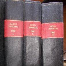 Coleccionismo de Revista Gaceta Ilustrada: GACETA ILUSTRADA AÑO 1962 COMPLETA FOTOS DE LAS PORTADAS. Lote 169743932