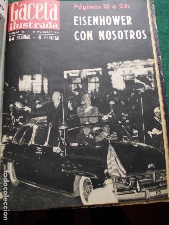 Coleccionismo de Revista Gaceta Ilustrada: ACETA ILUSTRADA 1959 COMPLETA MAS DE 52 REVISTAS FOTOS DE LAS PORTADAS - Foto 2 - 169855664