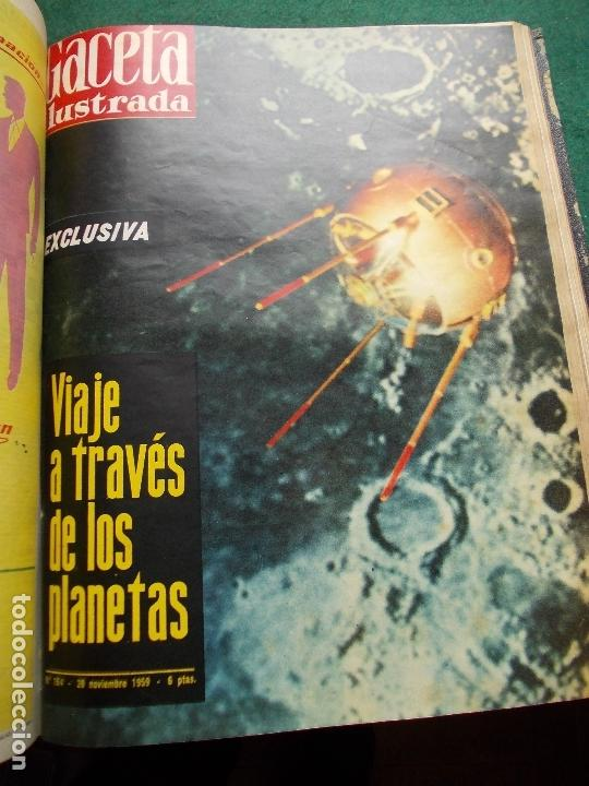 Coleccionismo de Revista Gaceta Ilustrada: ACETA ILUSTRADA 1959 COMPLETA MAS DE 52 REVISTAS FOTOS DE LAS PORTADAS - Foto 6 - 169855664