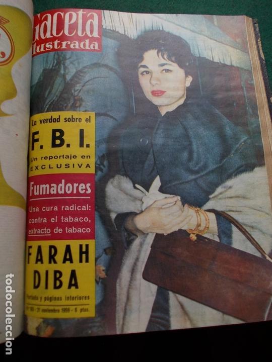Coleccionismo de Revista Gaceta Ilustrada: ACETA ILUSTRADA 1959 COMPLETA MAS DE 52 REVISTAS FOTOS DE LAS PORTADAS - Foto 7 - 169855664