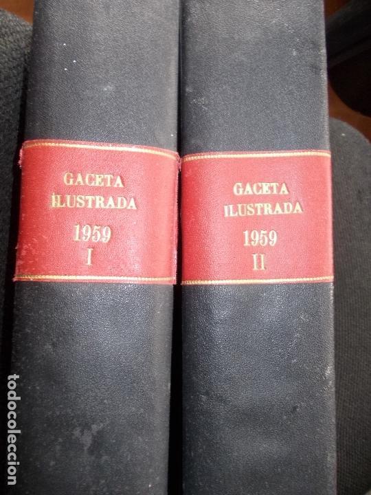 ACETA ILUSTRADA 1959 COMPLETA MAS DE 52 REVISTAS FOTOS DE LAS PORTADAS (Coleccionismo - Revistas y Periódicos Modernos (a partir de 1.940) - Revista Gaceta Ilustrada)