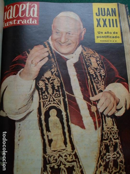 Coleccionismo de Revista Gaceta Ilustrada: ACETA ILUSTRADA 1959 COMPLETA MAS DE 52 REVISTAS FOTOS DE LAS PORTADAS - Foto 10 - 169855664