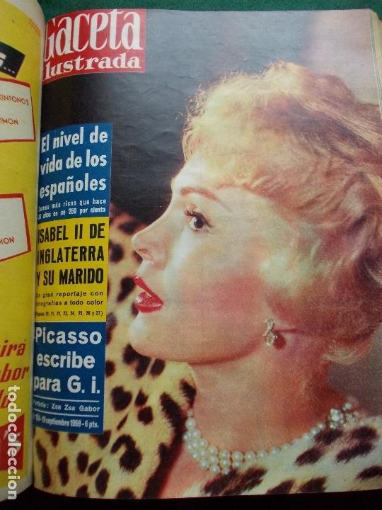 Coleccionismo de Revista Gaceta Ilustrada: ACETA ILUSTRADA 1959 COMPLETA MAS DE 52 REVISTAS FOTOS DE LAS PORTADAS - Foto 16 - 169855664