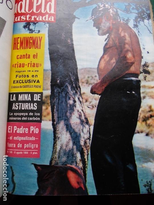 Coleccionismo de Revista Gaceta Ilustrada: ACETA ILUSTRADA 1959 COMPLETA MAS DE 52 REVISTAS FOTOS DE LAS PORTADAS - Foto 22 - 169855664