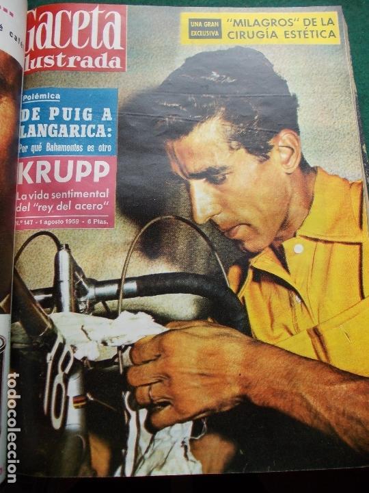 Coleccionismo de Revista Gaceta Ilustrada: ACETA ILUSTRADA 1959 COMPLETA MAS DE 52 REVISTAS FOTOS DE LAS PORTADAS - Foto 23 - 169855664