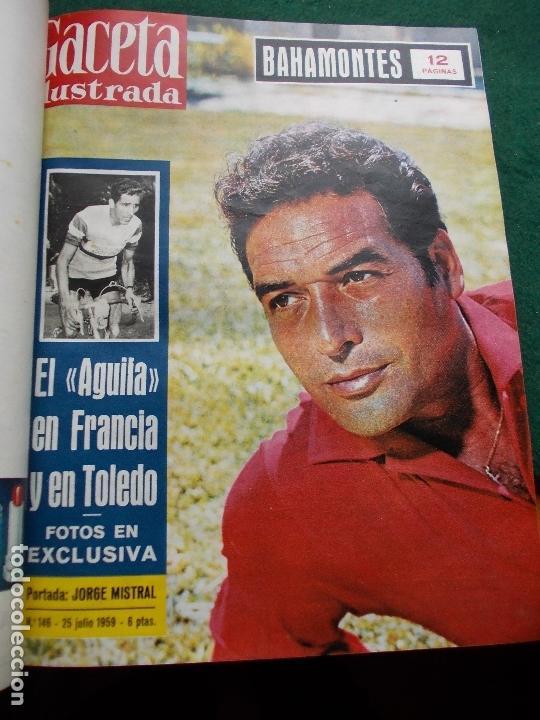 Coleccionismo de Revista Gaceta Ilustrada: ACETA ILUSTRADA 1959 COMPLETA MAS DE 52 REVISTAS FOTOS DE LAS PORTADAS - Foto 24 - 169855664