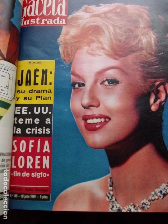 Coleccionismo de Revista Gaceta Ilustrada: ACETA ILUSTRADA 1959 COMPLETA MAS DE 52 REVISTAS FOTOS DE LAS PORTADAS - Foto 25 - 169855664