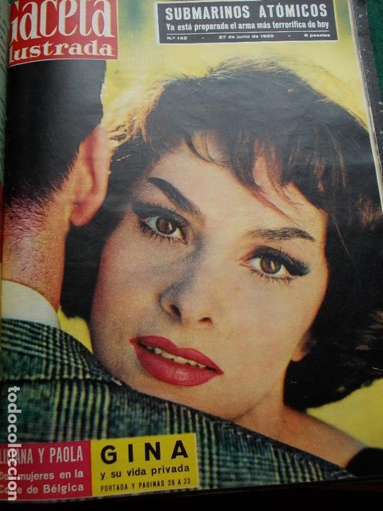 Coleccionismo de Revista Gaceta Ilustrada: ACETA ILUSTRADA 1959 COMPLETA MAS DE 52 REVISTAS FOTOS DE LAS PORTADAS - Foto 28 - 169855664