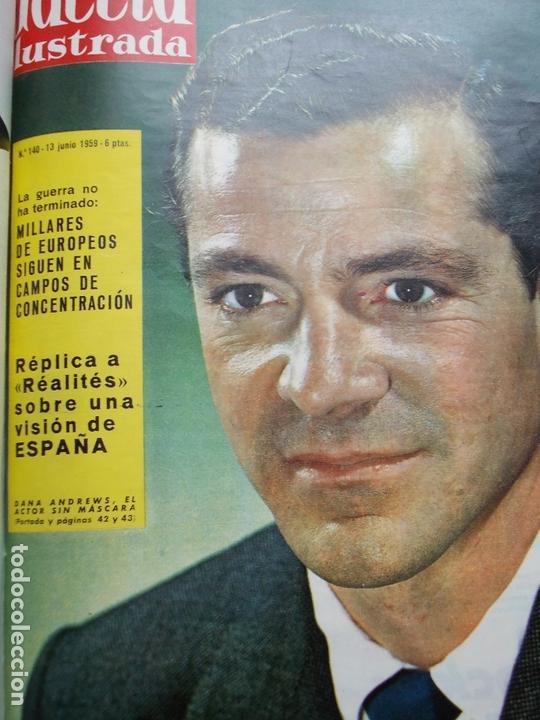 Coleccionismo de Revista Gaceta Ilustrada: ACETA ILUSTRADA 1959 COMPLETA MAS DE 52 REVISTAS FOTOS DE LAS PORTADAS - Foto 30 - 169855664