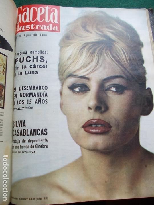 Coleccionismo de Revista Gaceta Ilustrada: ACETA ILUSTRADA 1959 COMPLETA MAS DE 52 REVISTAS FOTOS DE LAS PORTADAS - Foto 31 - 169855664