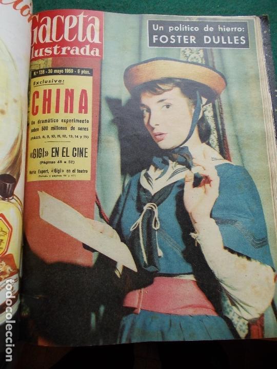 Coleccionismo de Revista Gaceta Ilustrada: ACETA ILUSTRADA 1959 COMPLETA MAS DE 52 REVISTAS FOTOS DE LAS PORTADAS - Foto 32 - 169855664