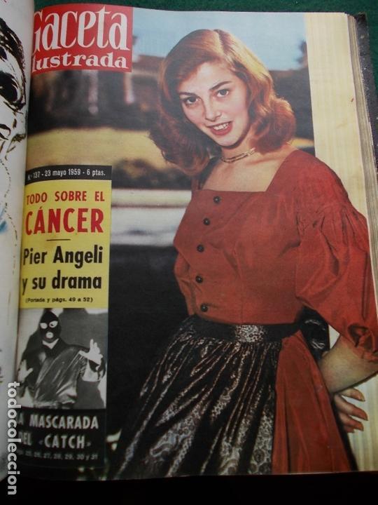 Coleccionismo de Revista Gaceta Ilustrada: ACETA ILUSTRADA 1959 COMPLETA MAS DE 52 REVISTAS FOTOS DE LAS PORTADAS - Foto 33 - 169855664