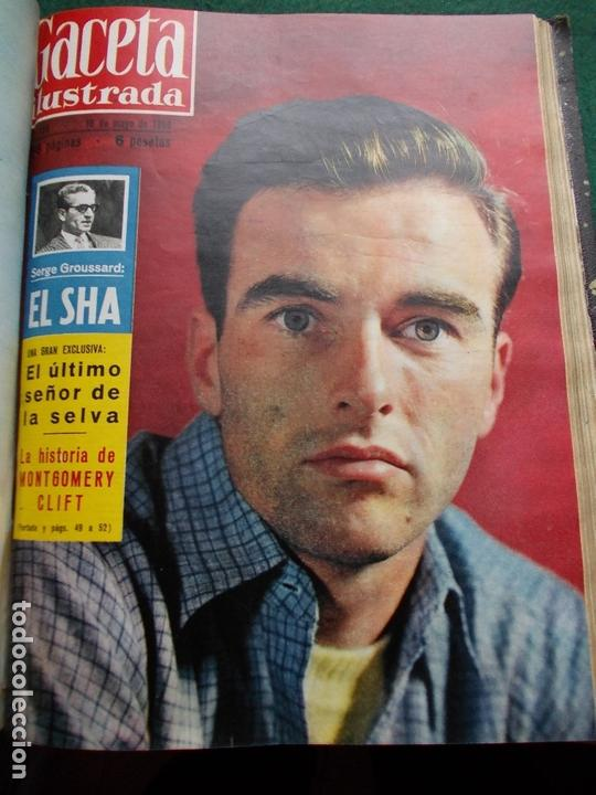 Coleccionismo de Revista Gaceta Ilustrada: ACETA ILUSTRADA 1959 COMPLETA MAS DE 52 REVISTAS FOTOS DE LAS PORTADAS - Foto 34 - 169855664