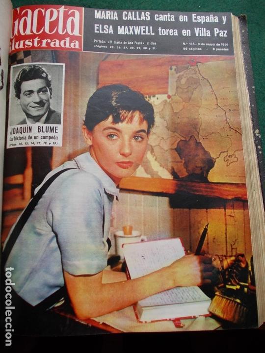 Coleccionismo de Revista Gaceta Ilustrada: ACETA ILUSTRADA 1959 COMPLETA MAS DE 52 REVISTAS FOTOS DE LAS PORTADAS - Foto 35 - 169855664