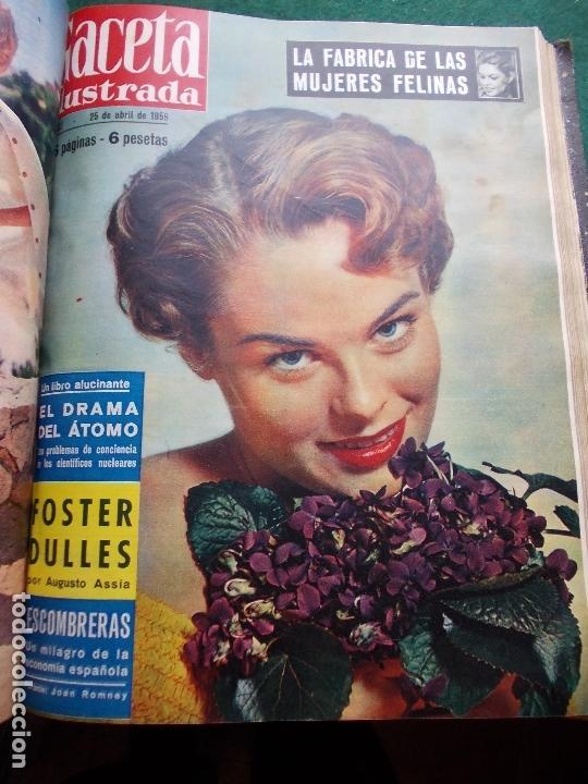Coleccionismo de Revista Gaceta Ilustrada: ACETA ILUSTRADA 1959 COMPLETA MAS DE 52 REVISTAS FOTOS DE LAS PORTADAS - Foto 37 - 169855664