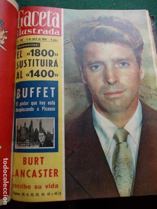 Coleccionismo de Revista Gaceta Ilustrada: ACETA ILUSTRADA 1959 COMPLETA MAS DE 52 REVISTAS FOTOS DE LAS PORTADAS - Foto 40 - 169855664