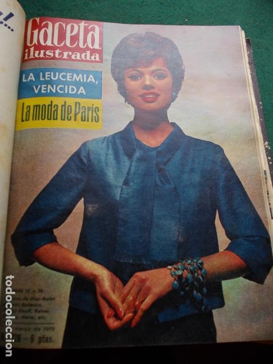 Coleccionismo de Revista Gaceta Ilustrada: ACETA ILUSTRADA 1959 COMPLETA MAS DE 52 REVISTAS FOTOS DE LAS PORTADAS - Foto 44 - 169855664