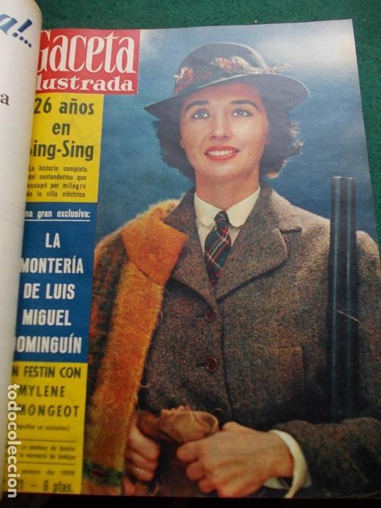 Coleccionismo de Revista Gaceta Ilustrada: ACETA ILUSTRADA 1959 COMPLETA MAS DE 52 REVISTAS FOTOS DE LAS PORTADAS - Foto 49 - 169855664