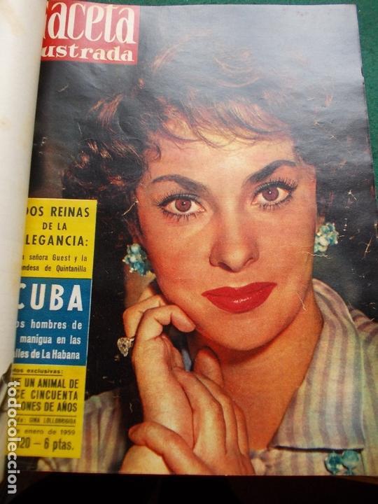 Coleccionismo de Revista Gaceta Ilustrada: ACETA ILUSTRADA 1959 COMPLETA MAS DE 52 REVISTAS FOTOS DE LAS PORTADAS - Foto 50 - 169855664