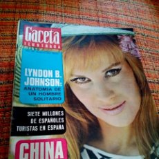 Coleccionismo de Revista Gaceta Ilustrada: REVISTA GACETA ILUSTRADA. Lote 169961536