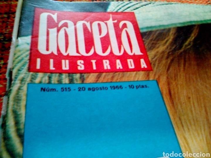Coleccionismo de Revista Gaceta Ilustrada: Revista gaceta ilustrada - Foto 2 - 169961536