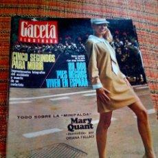 Coleccionismo de Revista Gaceta Ilustrada: REVISTA GACETA ILUSTRADA. Lote 169961865