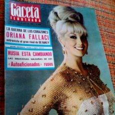 Coleccionismo de Revista Gaceta Ilustrada: REVISTA GACETA ILUSTRADA. Lote 169962193