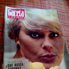 Coleccionismo de Revista Gaceta Ilustrada: REVISTA GACETA ILUSTRADA. Lote 169962413