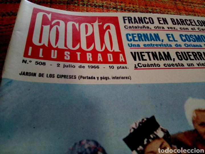 Coleccionismo de Revista Gaceta Ilustrada: Revista Gaceta ilustrada - Foto 2 - 169962552