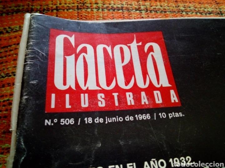 Coleccionismo de Revista Gaceta Ilustrada: Revista Gaceta ilustrada - Foto 2 - 169962844