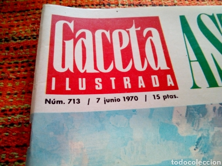 Coleccionismo de Revista Gaceta Ilustrada: Revista Gaceta ilustrada - Foto 2 - 169963541