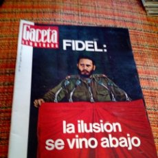Coleccionismo de Revista Gaceta Ilustrada: REVISTA GACETA ILUSTRADA. Lote 169964572