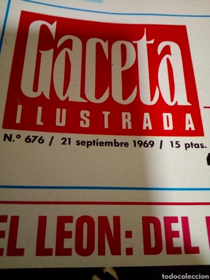Coleccionismo de Revista Gaceta Ilustrada: Revista Gaceta ilustrada - Foto 2 - 170025872